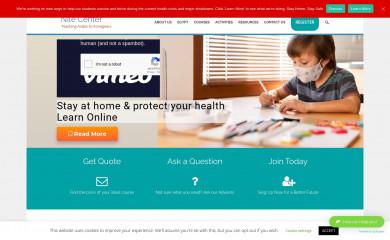 nilecenter.org screenshot
