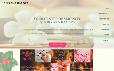 nirvanaclearwater.com screenshot