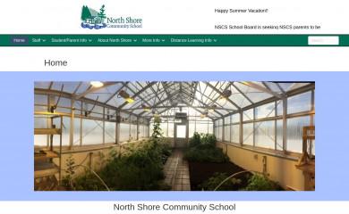 http://northshorecommunityschool.org screenshot