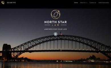 northstarlaw.com.au screenshot