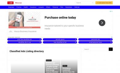 nowclassifieds.com screenshot