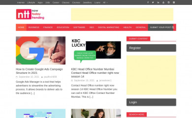 nowtodaytrending.com screenshot