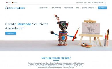 outsourcing4work.de screenshot