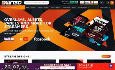 own3d.tv screenshot