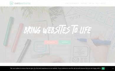 ownwebsite.com screenshot