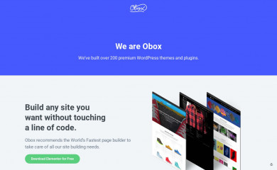 oboxthemes.com screenshot