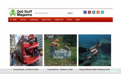 oddstuffmagazine.com screenshot
