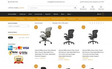 officechairatwork.com screenshot