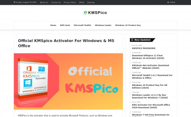 official-kmspico.com screenshot