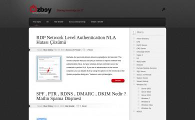 okanozbey.com screenshot