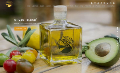 oliveoilsland.com screenshot