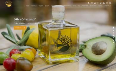 oliveoilsland.com screenshot