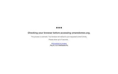 omaredomex.org screenshot