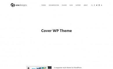 Cover WP screenshot