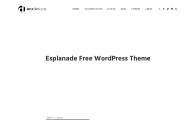 http://www.onedesigns.com/wordpress-themes/esplanade-free-wordpress-theme screenshot
