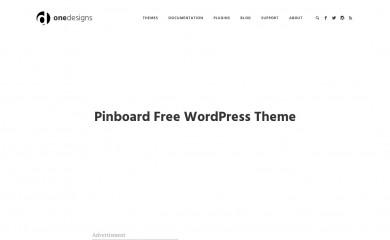 http://www.onedesigns.com/wordpress-themes/pinboard screenshot