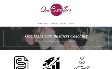 oneextrazero.com screenshot