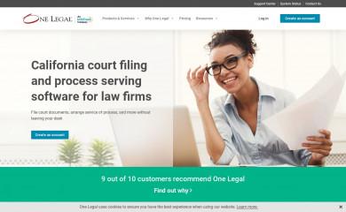 onelegal.com screenshot