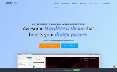 One Page Express screenshot