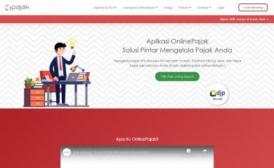 online-pajak.com screenshot