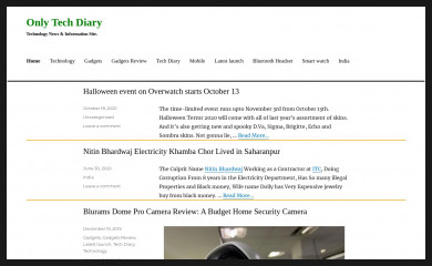 onlytechdiary.com screenshot