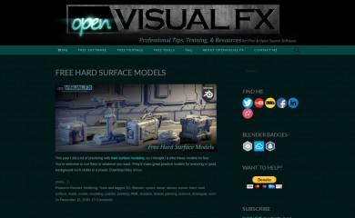 openvisualfx.com screenshot