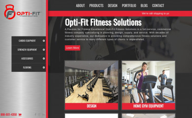 opti-fit.com screenshot
