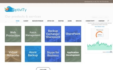 http://optivity.co.uk screenshot
