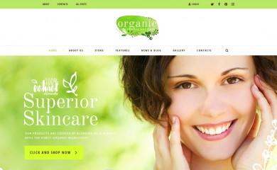 Organic Beauty screenshot