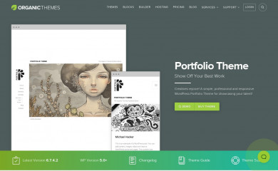 Portfolio Lite screenshot