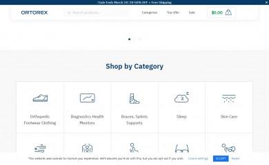 ortorex.com screenshot