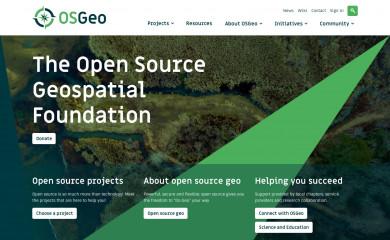 osgeo.org screenshot