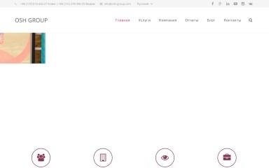 osh-group.com screenshot