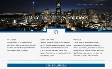 ossi.com screenshot