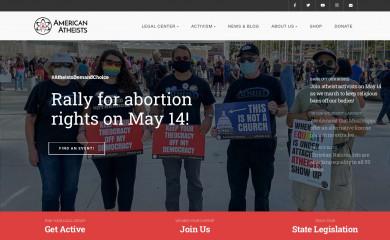 atheists.org screenshot