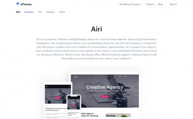 https://athemes.com/theme/airi screenshot