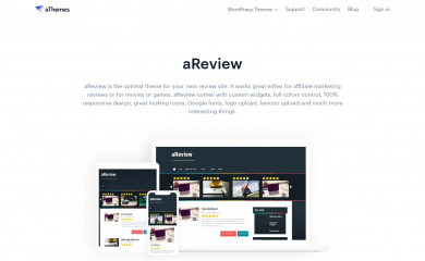 aReview screenshot