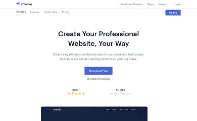Sydney screenshot