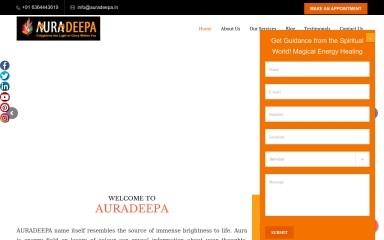auradeepa.in screenshot