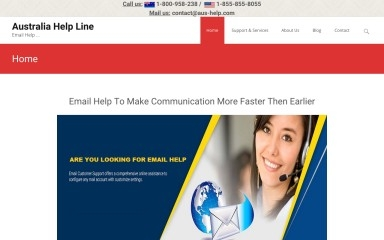 aus-help.com screenshot