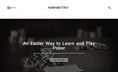 automaticpoker.com screenshot
