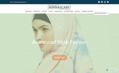avanascarf.id screenshot