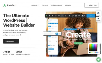 http://avada.theme-fusion.com/ screenshot