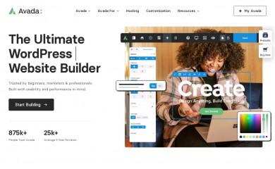 Avada Child screenshot