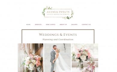 avenueeventsaz.com screenshot