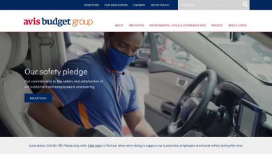 http://avisbudgetgroup.com screenshot
