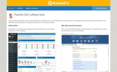 axandra.com screenshot