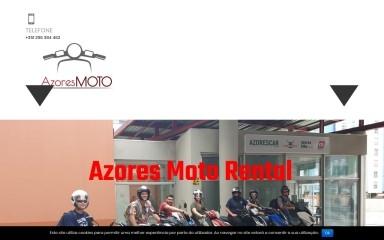 azoresmotorental.com screenshot