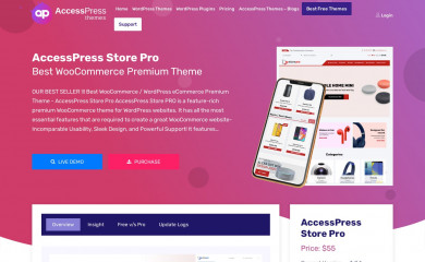 AccessPress Store Pro screenshot