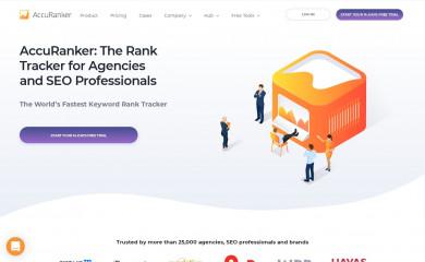 accuranker.com screenshot